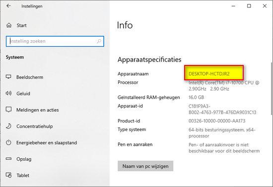 windows 10 licentie overzetten naar nieuwe pc