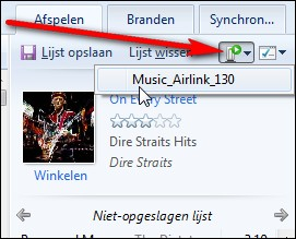mp3 streamen met Windows Media Player