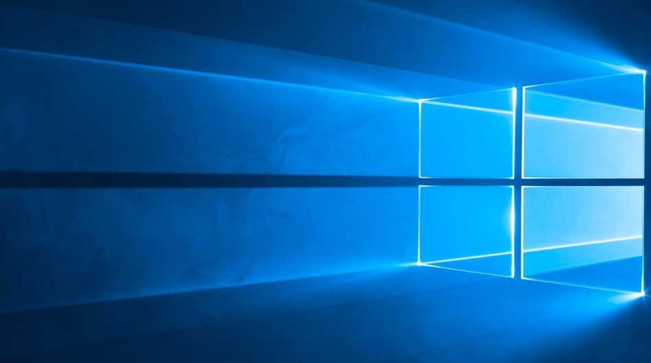 windows 10 bureaublad weergeven